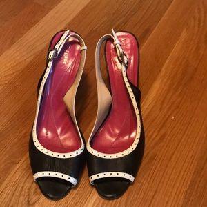 Kate Spade Peep Toe Slingback Heels